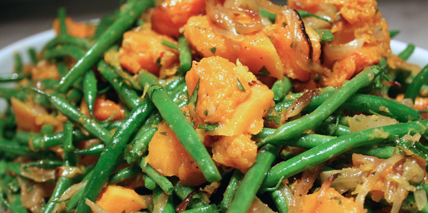 Thumb big nr0087 roasted butternut  green beans and carmelised onions nh